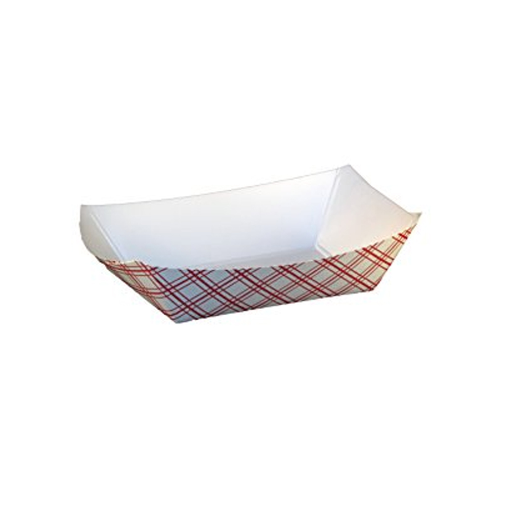 Specialty Quality Plaid #200 Food Tray 8702