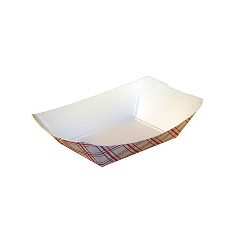 Specialty Quality Plaid #50 Food Tray 8708