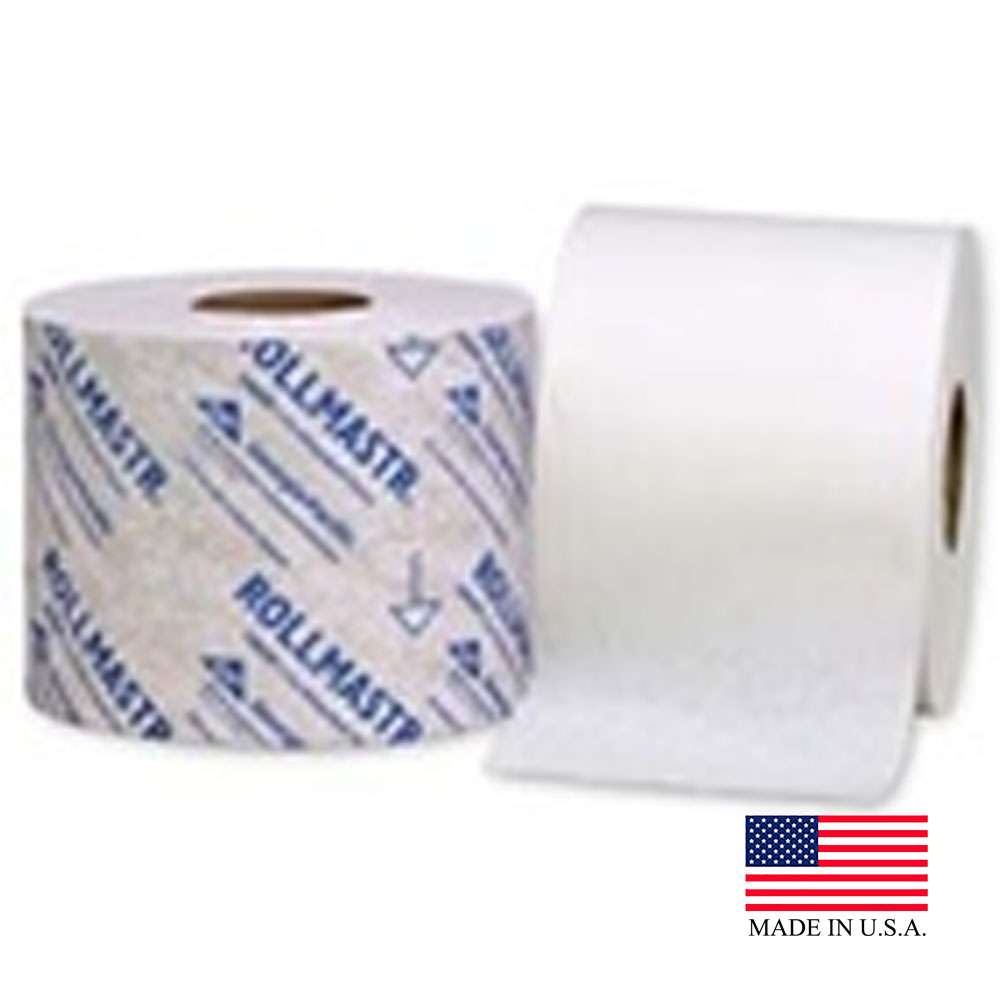 Georgia Pacific White 1ply 1540 Sheet Roll Master High Capacity Bathroom Tissue 19020