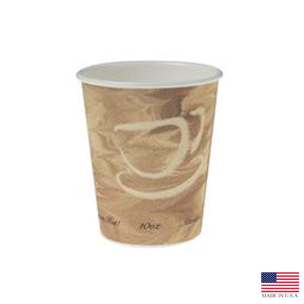 Solo Mystique 10oz Single Poly Paper Hot Cup       370MS-0029