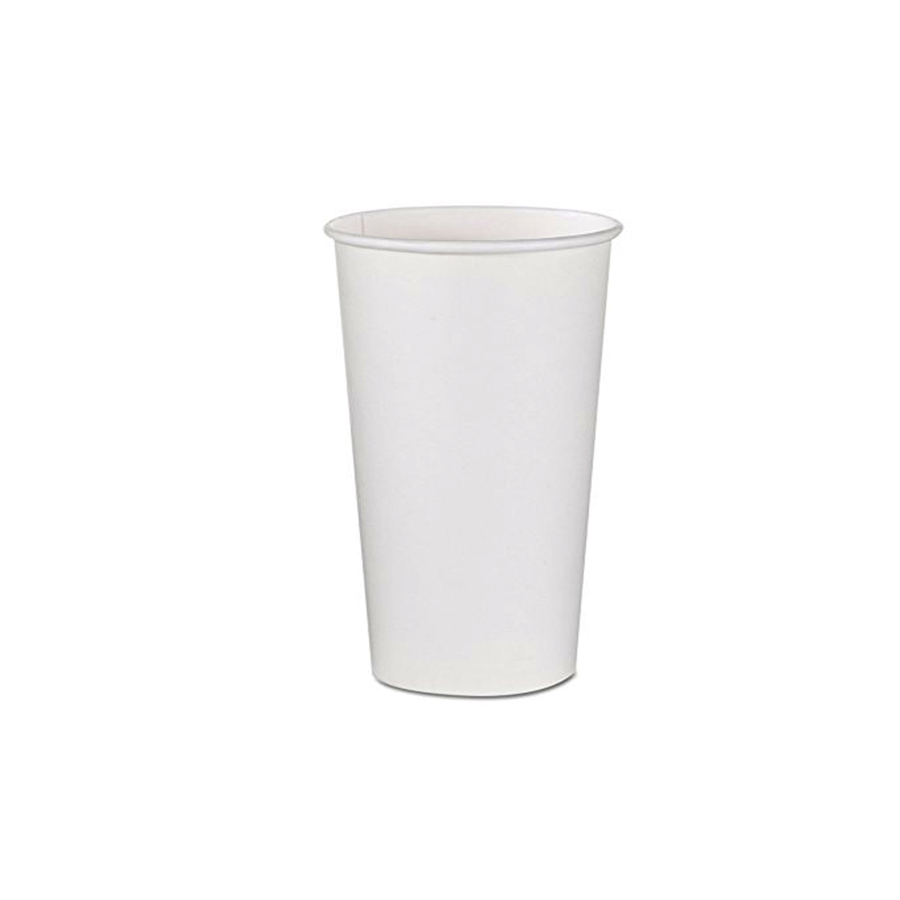 Fresh Cup White 12 oz. Paper Hot Cup WFC12HC