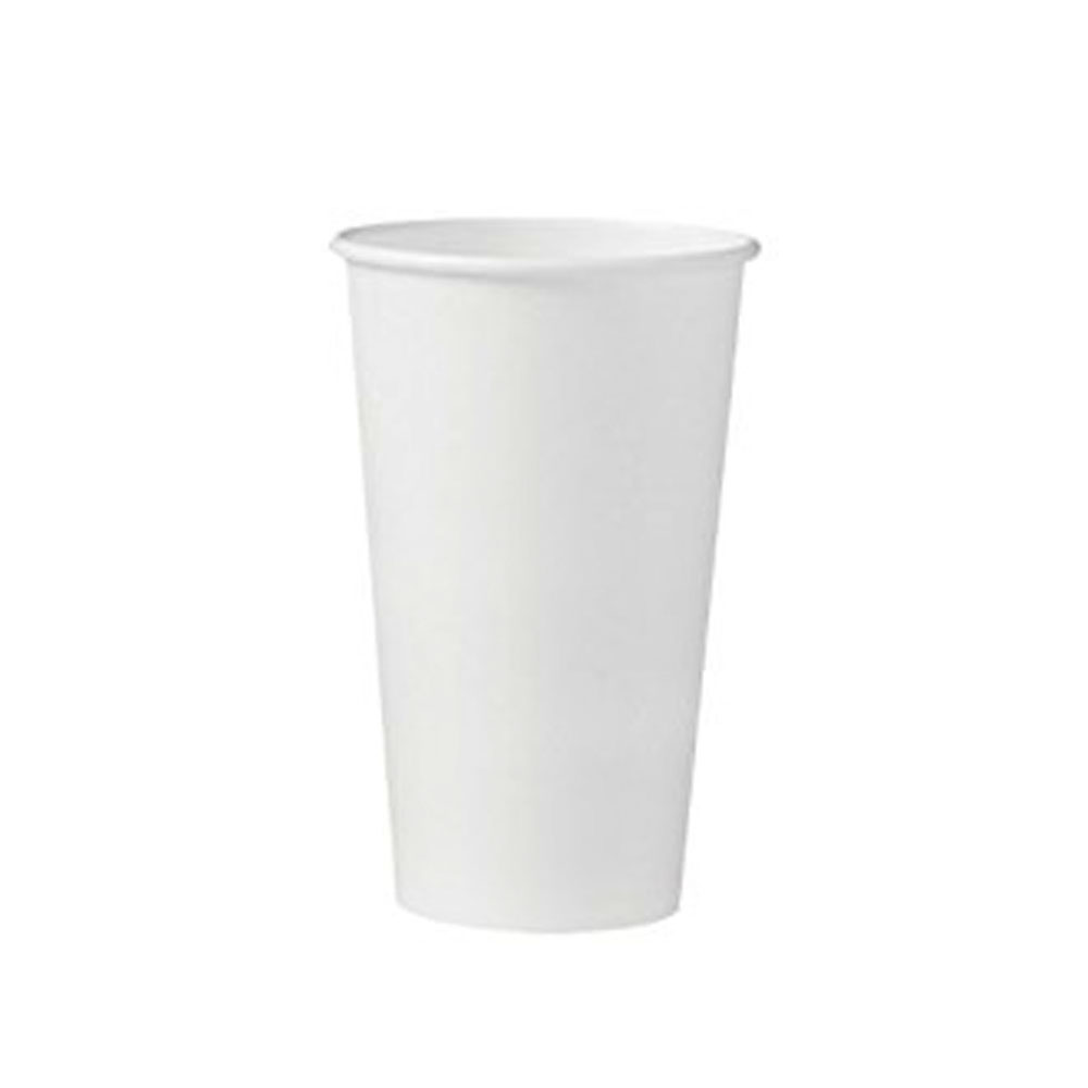 Fresh Cup White 16 oz. Paper Hot Cup WFC16HC