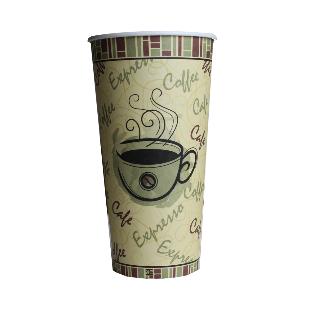 20oz Netchoice Design Paper Hot Cup