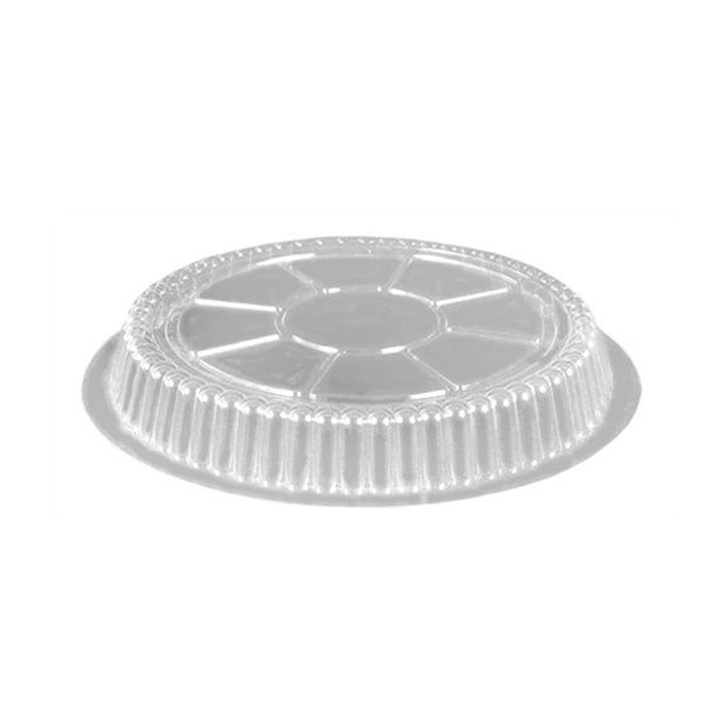 "Clear Plastic Dome Lid for 8"" Round Aluminum      Container 508DL-LD36"
