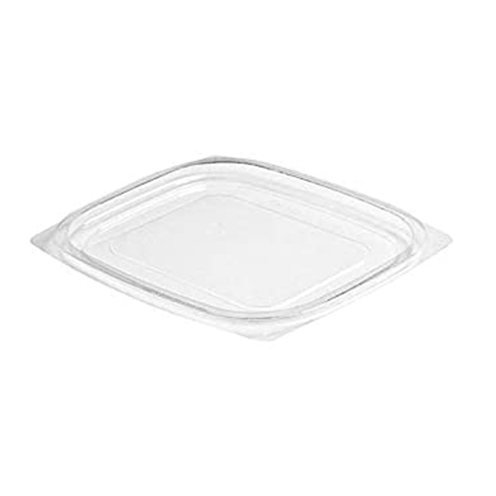 Dart - ClearPac Snap-On Flat Lid for 8 oz. / 12   oz. / 16 oz. Containers C12DLR
