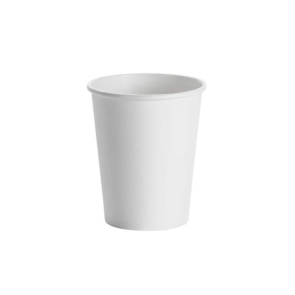 Fresh Cup White 8 oz. Paper Hot Cup WFC8HC