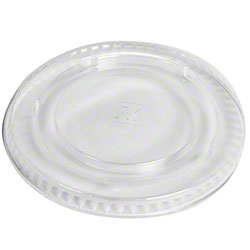 Fabrikal Clear 9/10oz X Slot Lid With Flavor Buttons LKC9/10/9508053