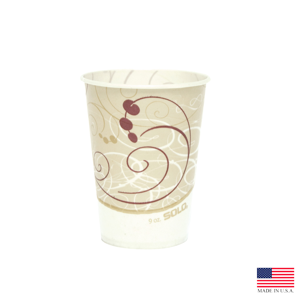 Solo Cup Co. - Symphony 9 oz. Wax Paper Cup R9N-J8000