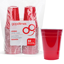 Goodtimes Red 50ct 16oz Cup G0351