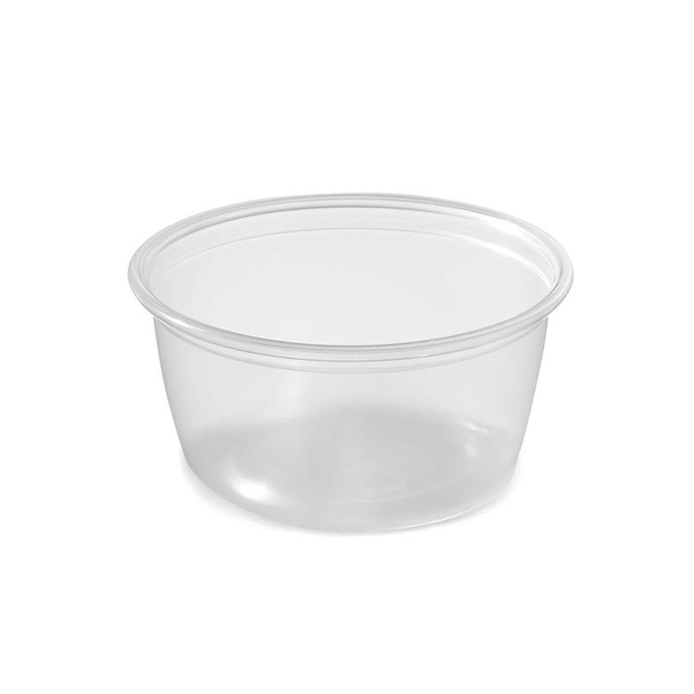 Amhil - Clear 2 oz. Polypropylene Souffle Portion Cup ASB200