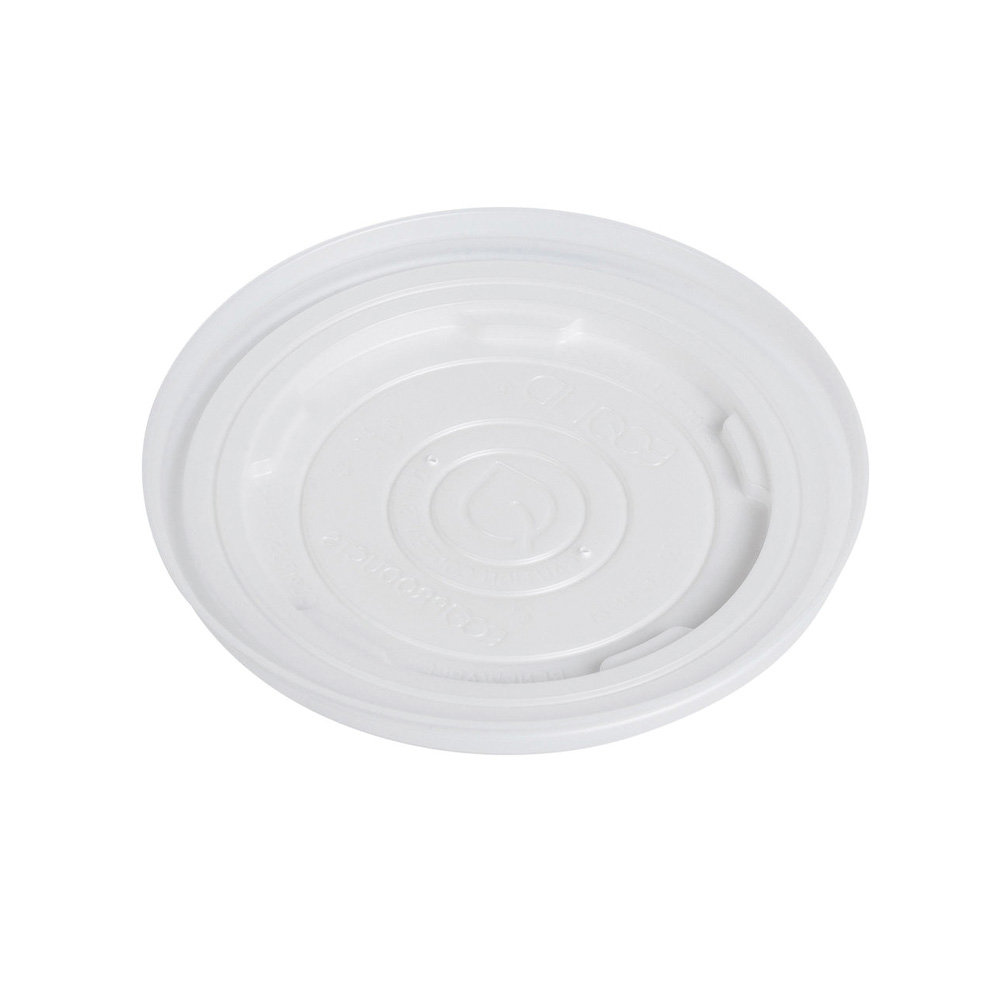 Eco Products - White 12-32 oz. Plastic Container Lid EP-ECOLID-SPL