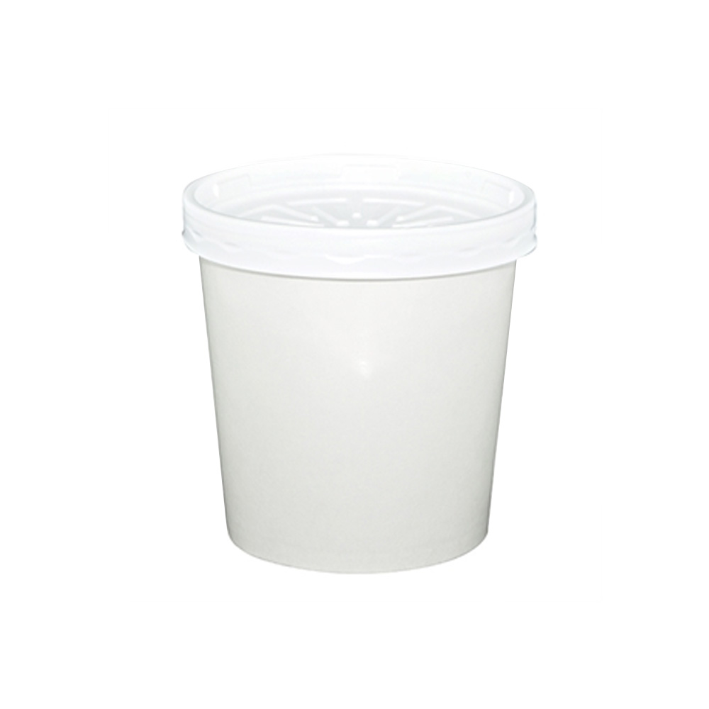 Dopaco White 16oz Soup Container With Lid D16RBLD/14362