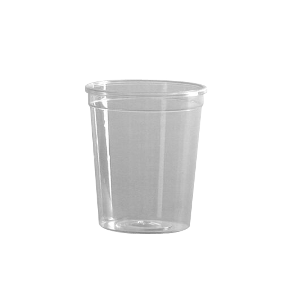 WNA/Comet - Petites Clear 2 oz. Plastic Portion Tasting Glass APTGLS2