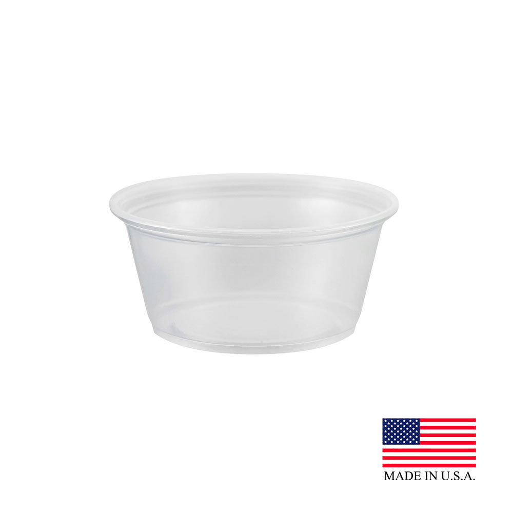 Dart Clear 3.25oz Souffle Portion Cup 325PC