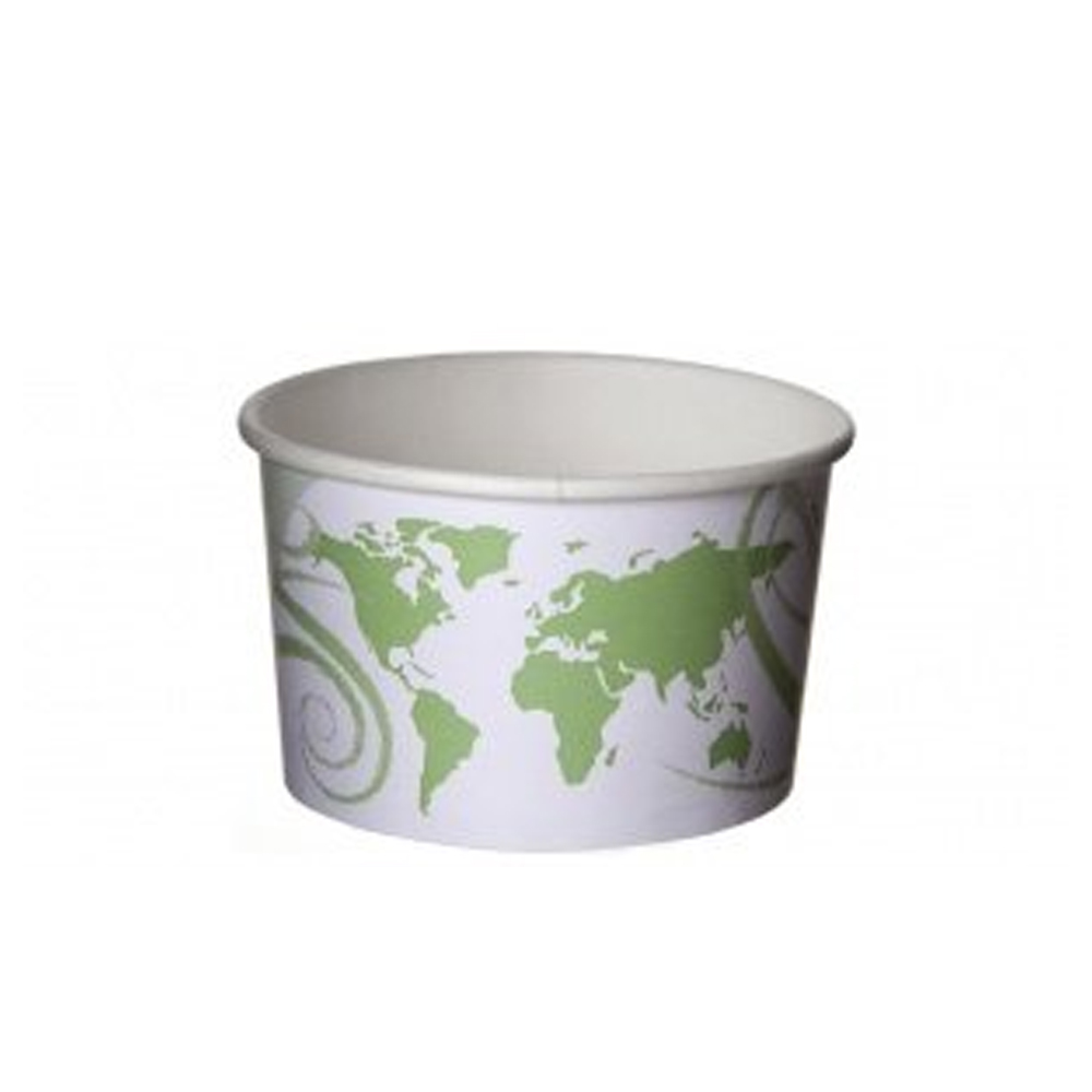 Eco Products - World Delight 5 oz. Renewable and  Compostable Food Container EP-BSC5-WDL
