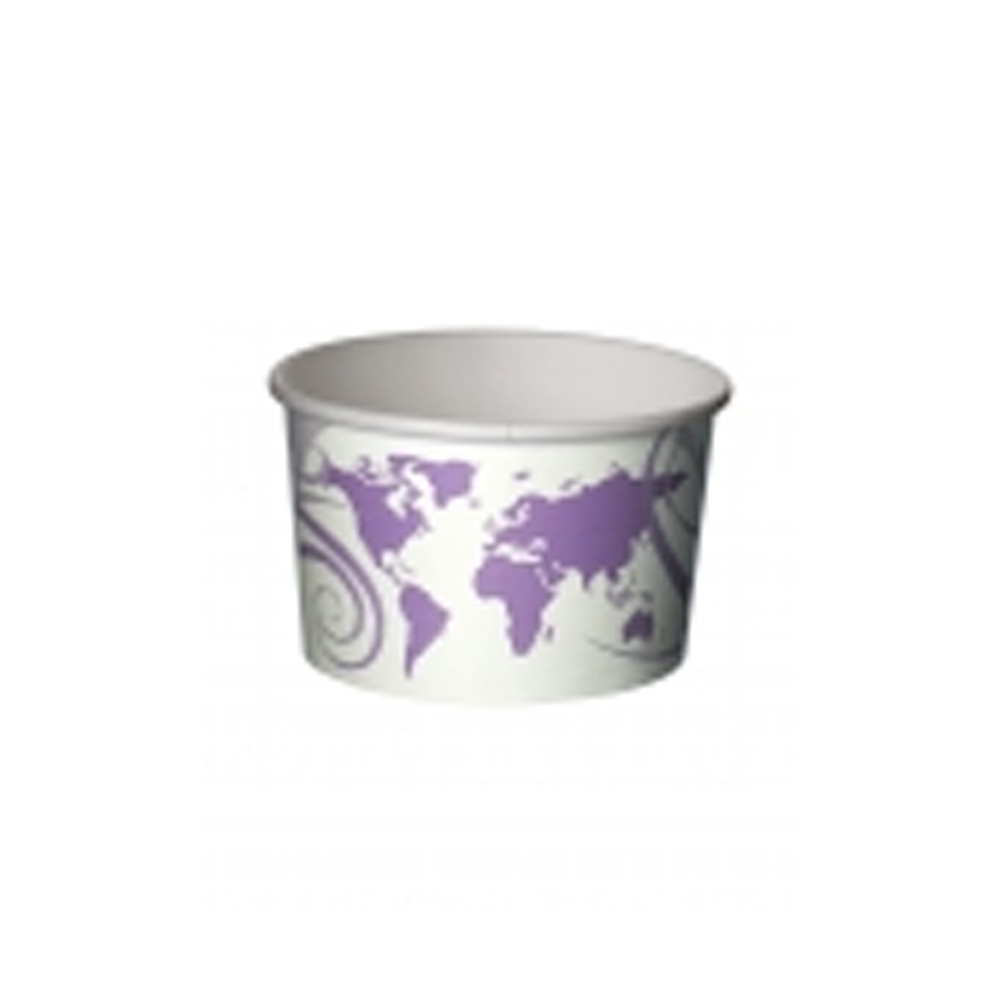 Eco Products - World Art Printed 16 oz. Paper Soup Container EP-BSC16-WA