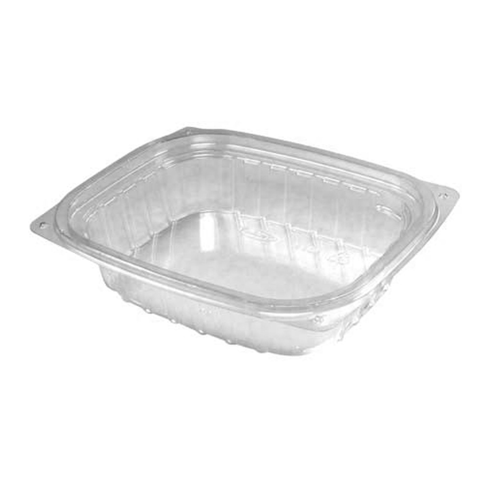 Solo Cup White 8oz Double Sided Poly Food Container With Lid KHB8A-2050