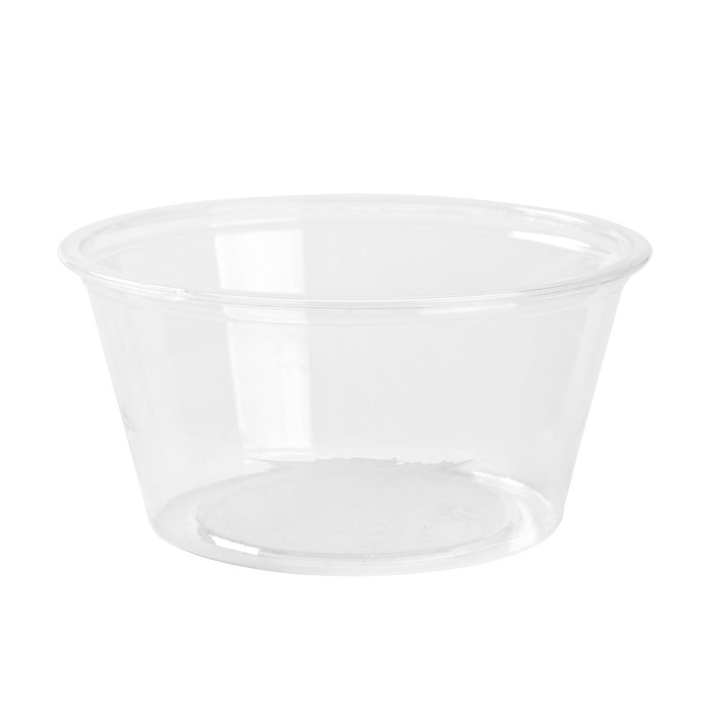 Fabrikal Clear 2oz Greenware Souffle Portion Cup GPC200/9509302
