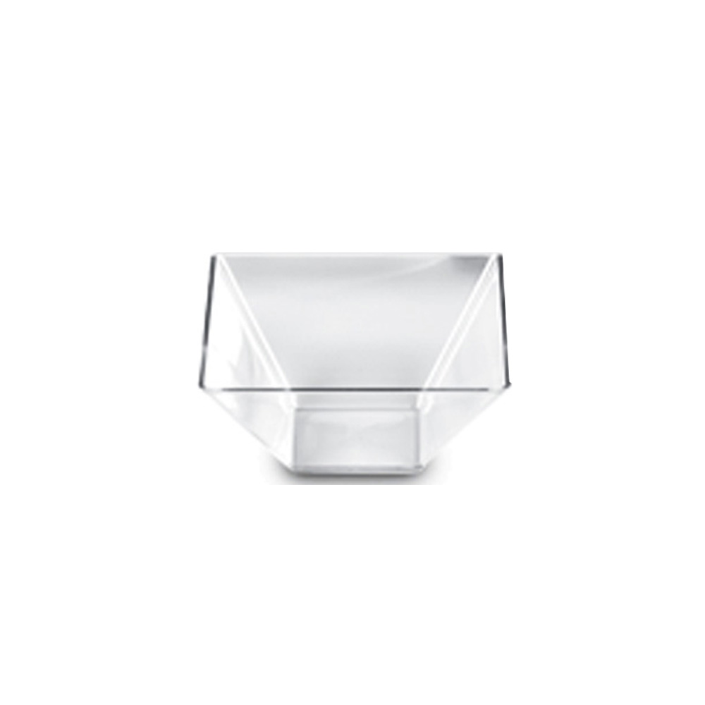 Novelty Crystal Corp. - Clear 2 Qt Square Plastic Bowl 262