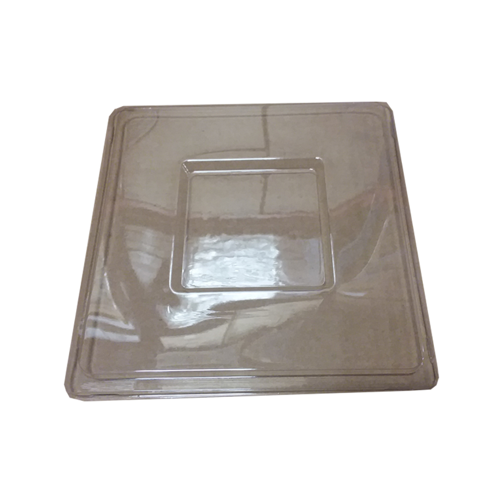 Novelty Crystal Clear Square Lid For 128oz Bowl   1764