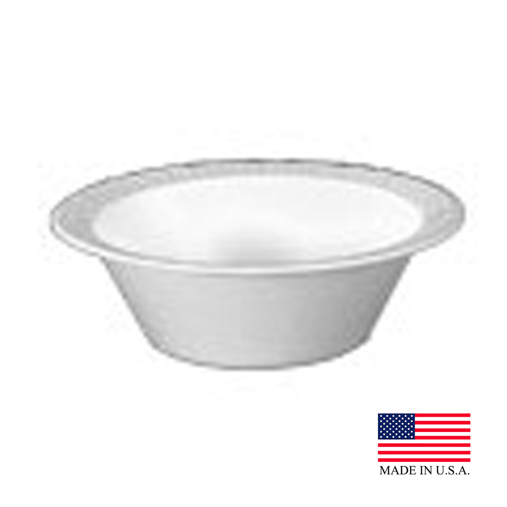 Dart White 12oz Unlaminated Bowl 12BWWCR