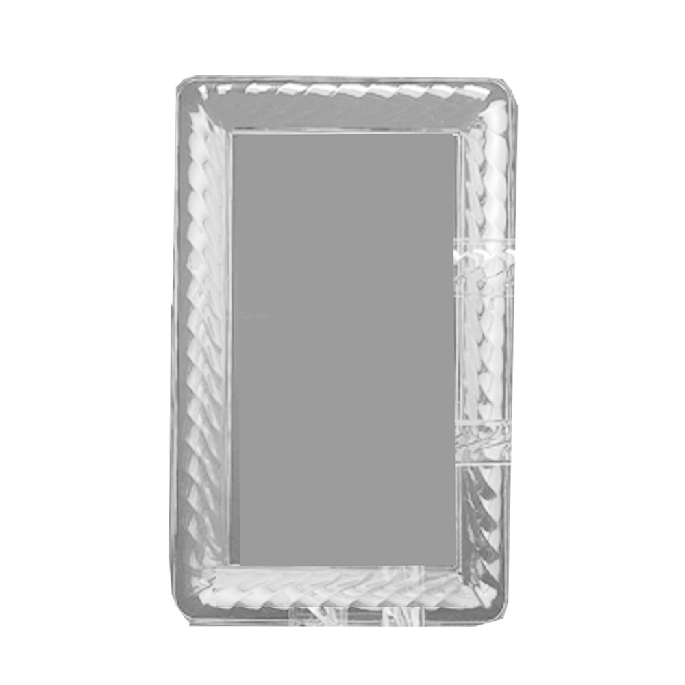 "Novelty Crystal Clear 8""x10"" Oblong Tray 1250"