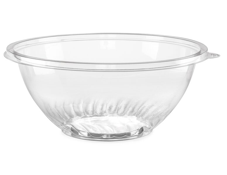 Comet Clear 160oz Plastic Pet Bowl APB160CL