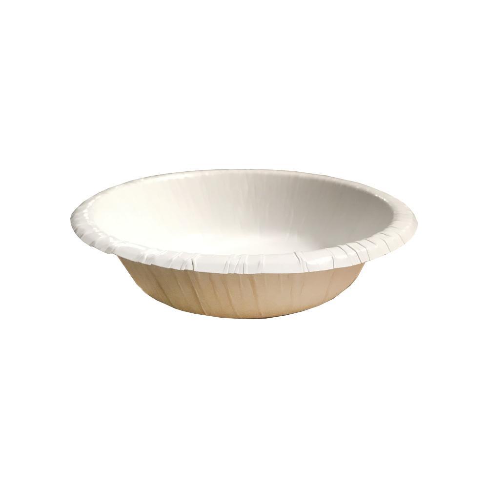 Aspen Products White 12oz Heavy Duty Paper Bowl   27011