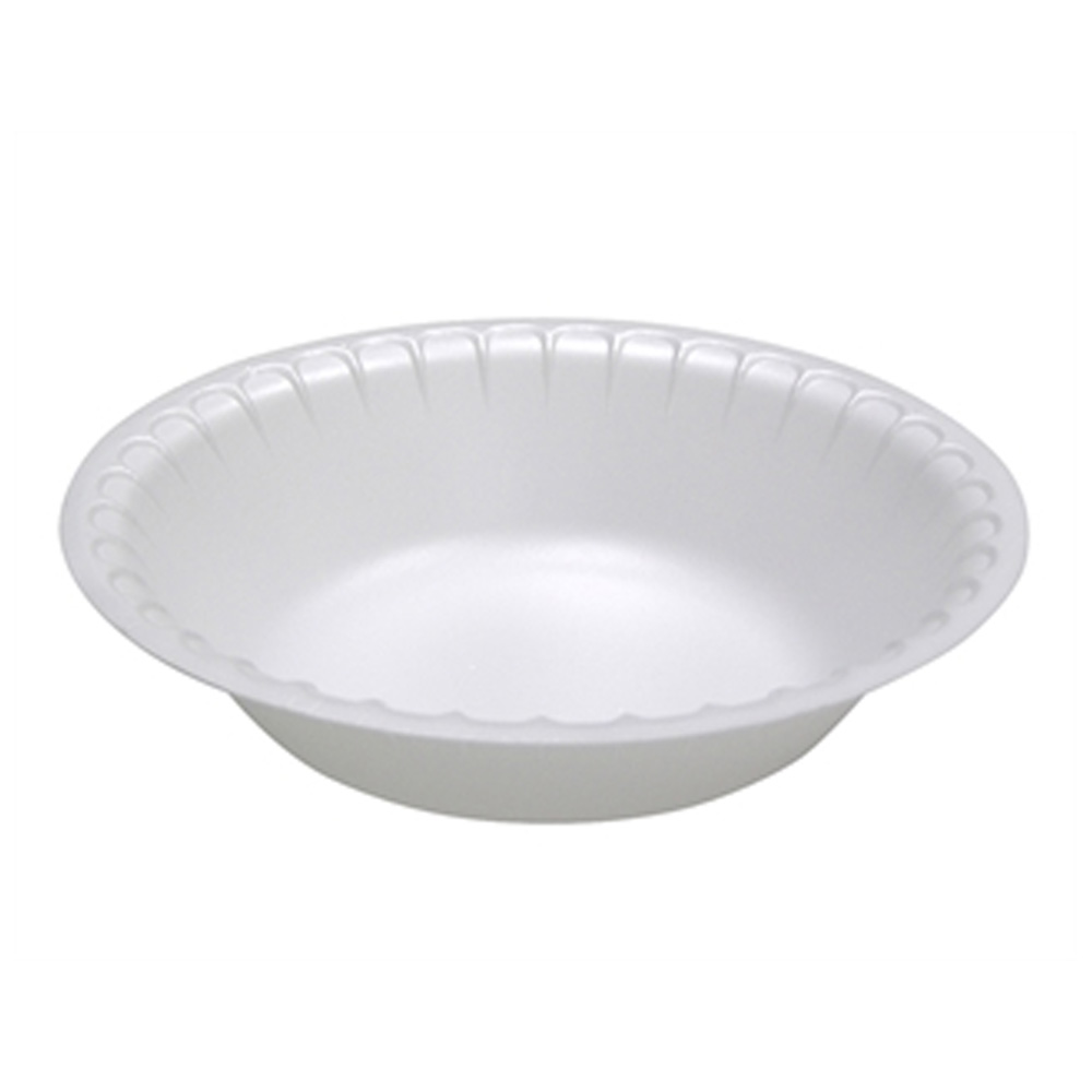 Pactiv White 30oz Foam Bowl YTK500300000