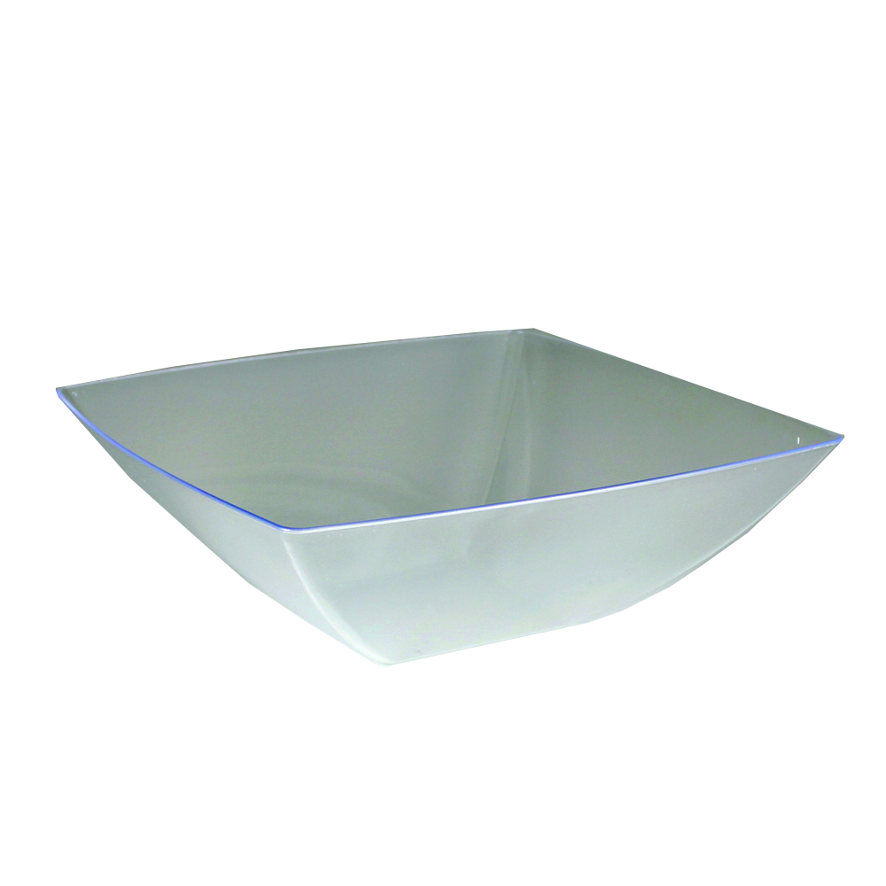 Maryland Plastics Clear 128oz Square Bowl SQ81286