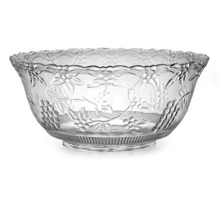 Fineline Settings Clear 8qt Punch Bowl 3508-CL
