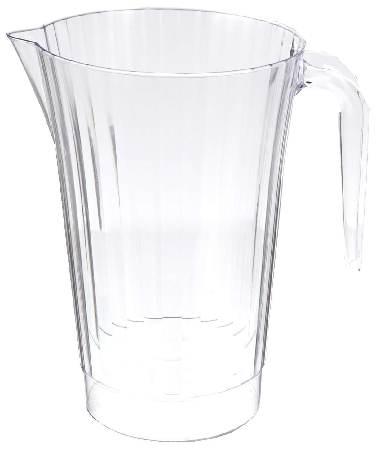 Comet Clear 50oz Classic Crystal Plastic Pitcher CCPIT50