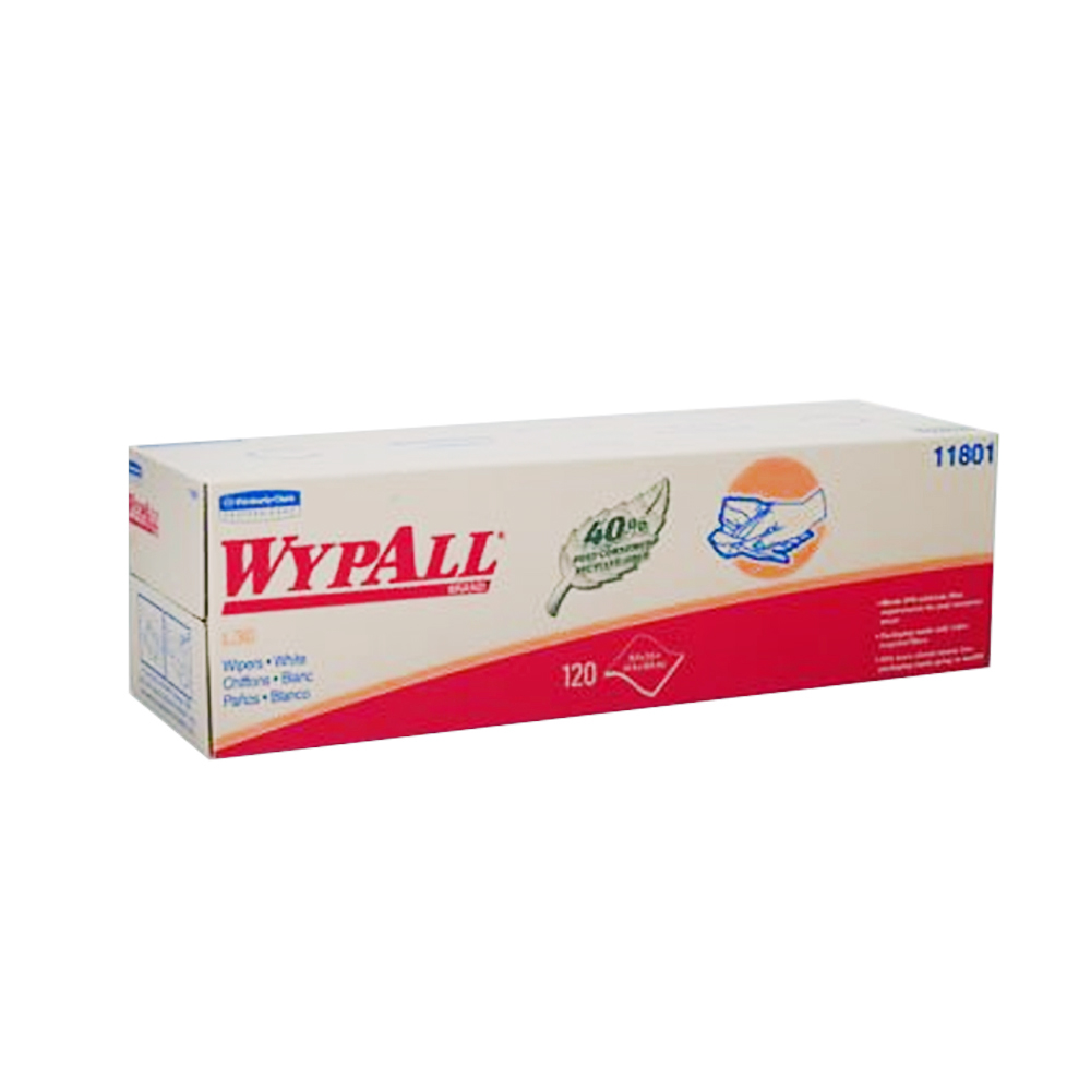 "Kimberly Clark White 16.4""x9.8"" Wypall Dispenser  Box L30/120 11801"