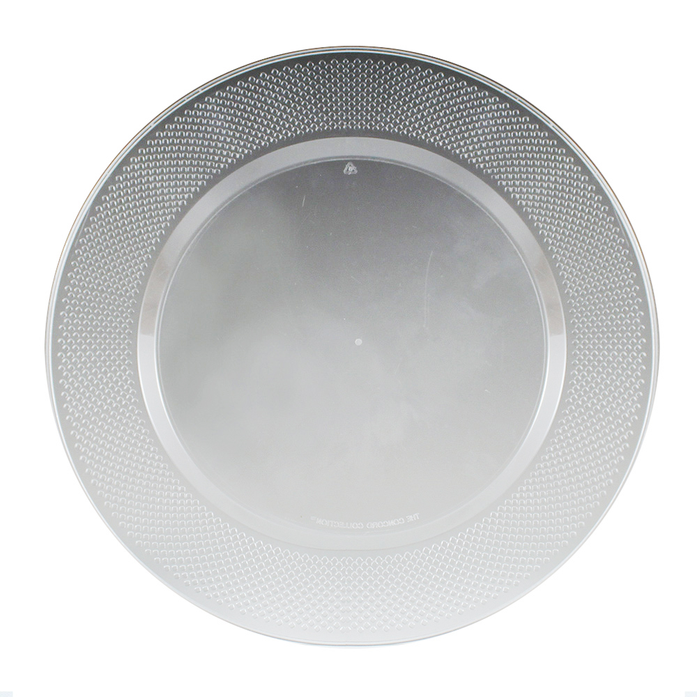 "Maryland Plastics Inc. - Concord Clear 10.25"" Plastic Plate CC10016"
