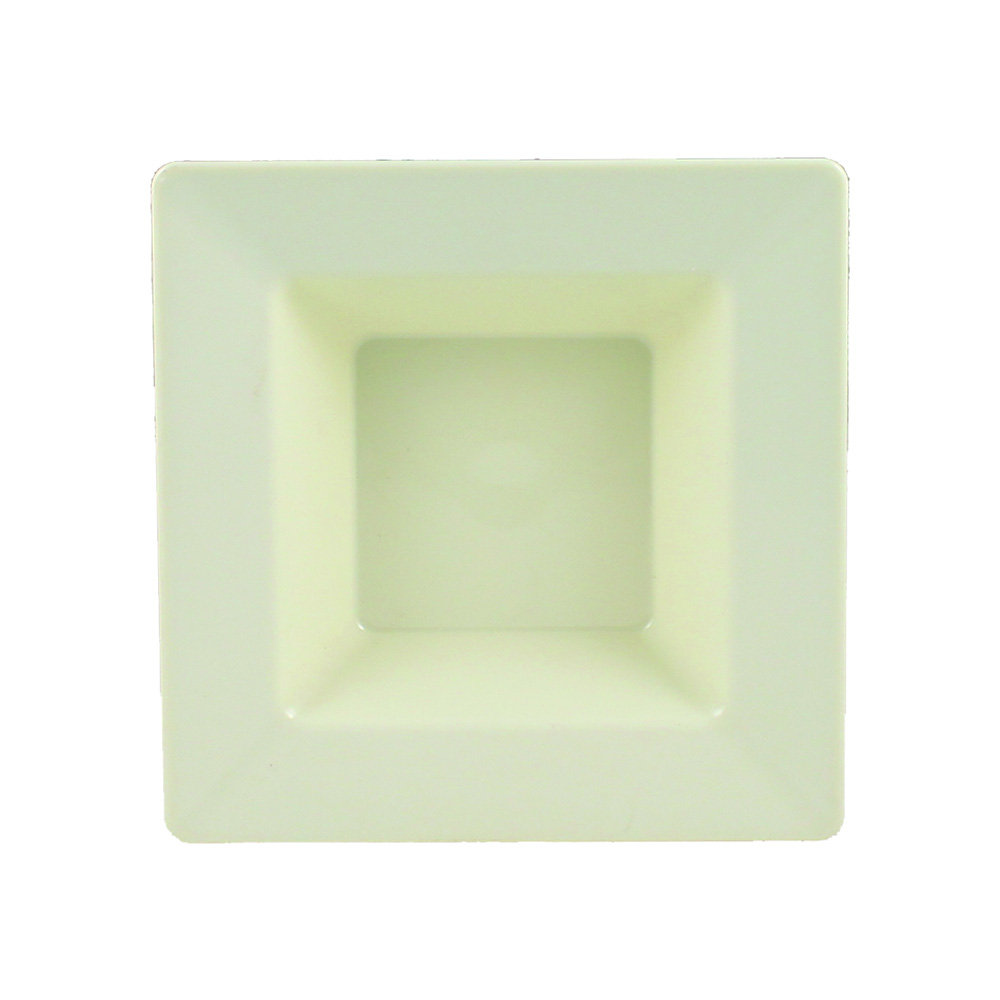 Maryland Plastics Beige 12oz Simply Squared Bowl  SQ90127