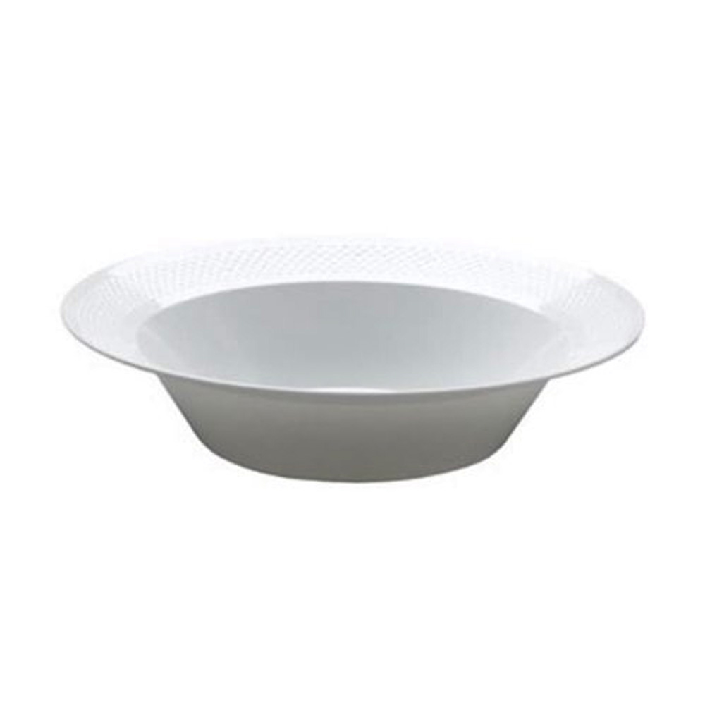 Maryland Plastics White 12oz Soup Bowl CC12100