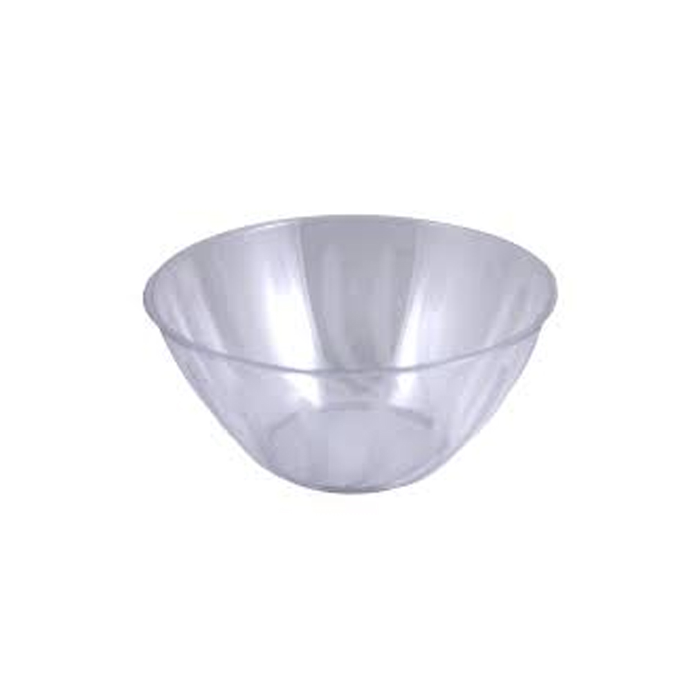 Maryland Plastics Clear Medium Swirl Bowl MPI90866