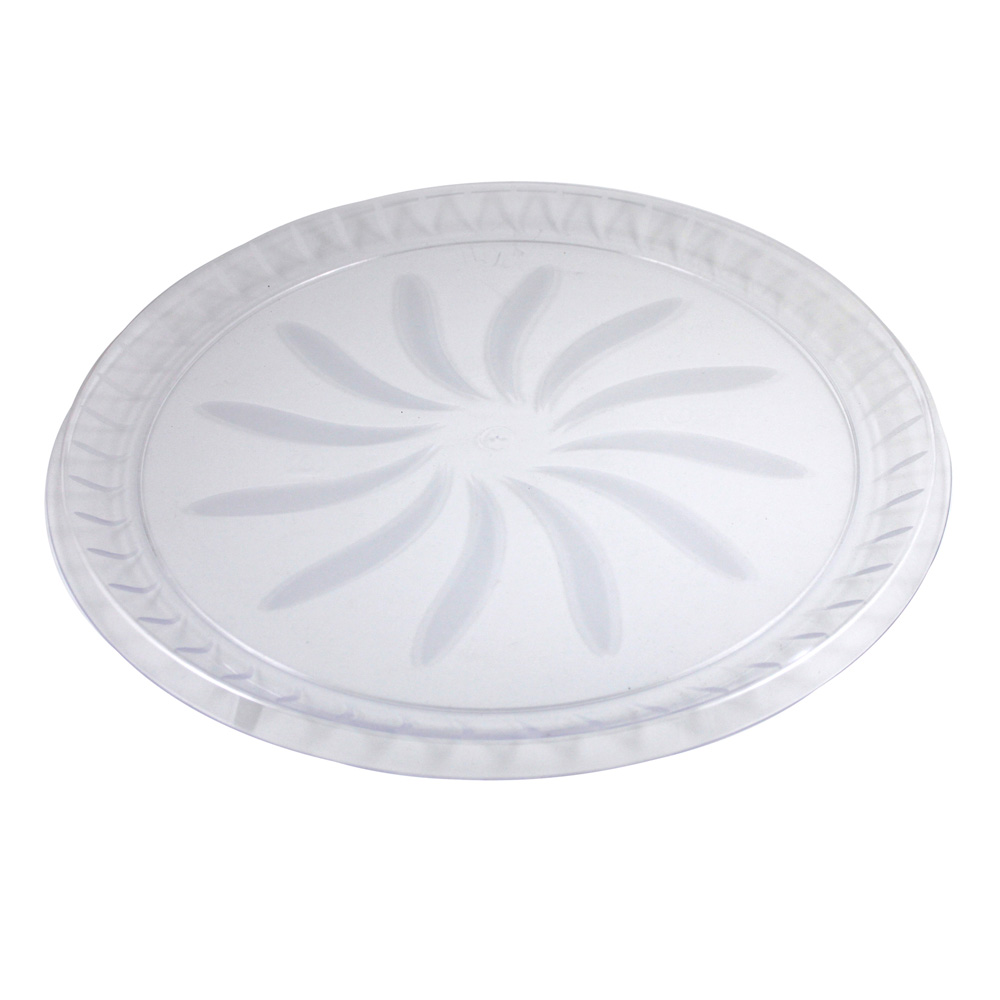 "Maryland Plastics Clear 18"" Swirl Tray MPI72186"