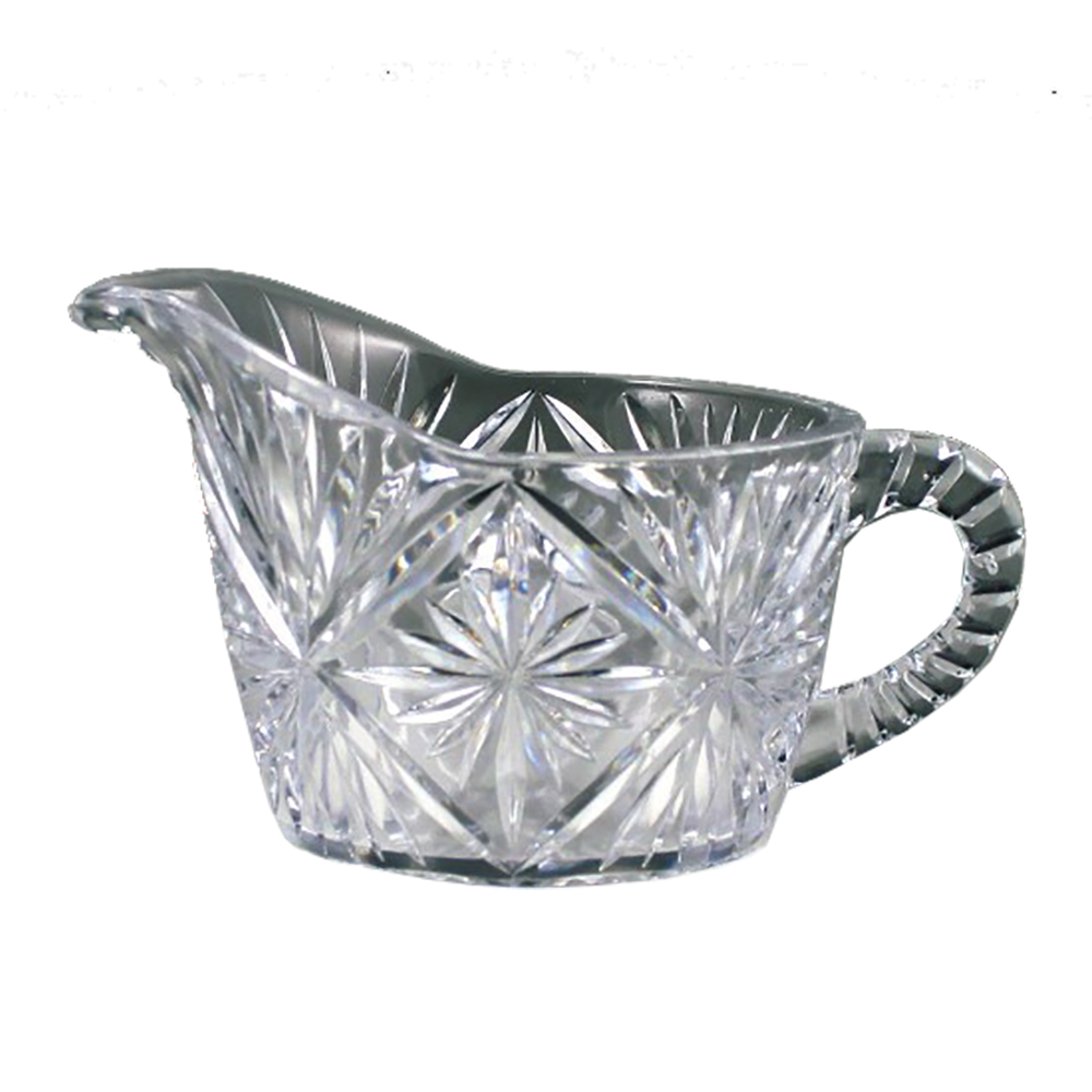 Maryland Plastics Clear Crystalware Cream Pitcher MPI0057