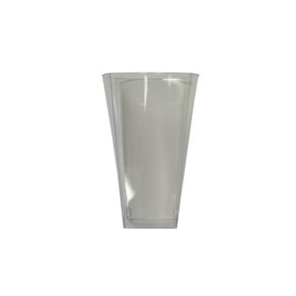 Maryland Plastics Clear 10oz Simply Squared       Tumbler SQ80106