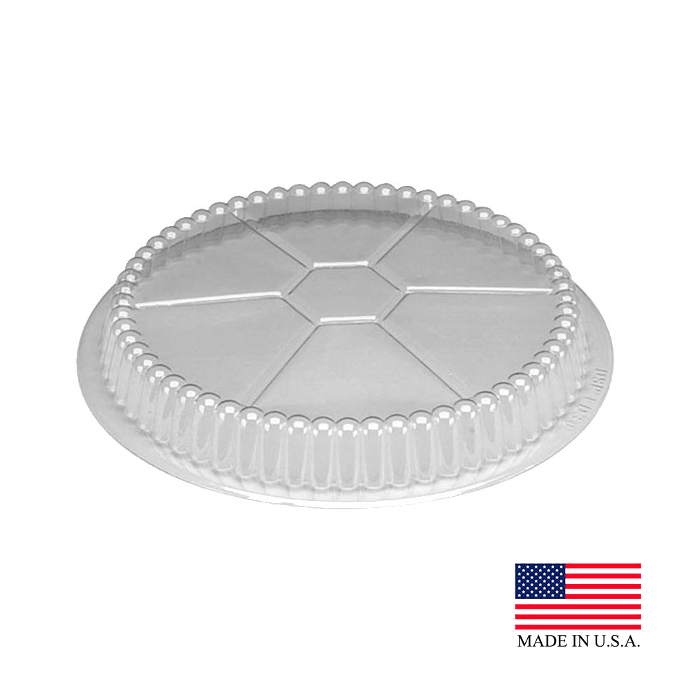 "Douglas Stephen Clear 7"" Round Dome Lid LD30"