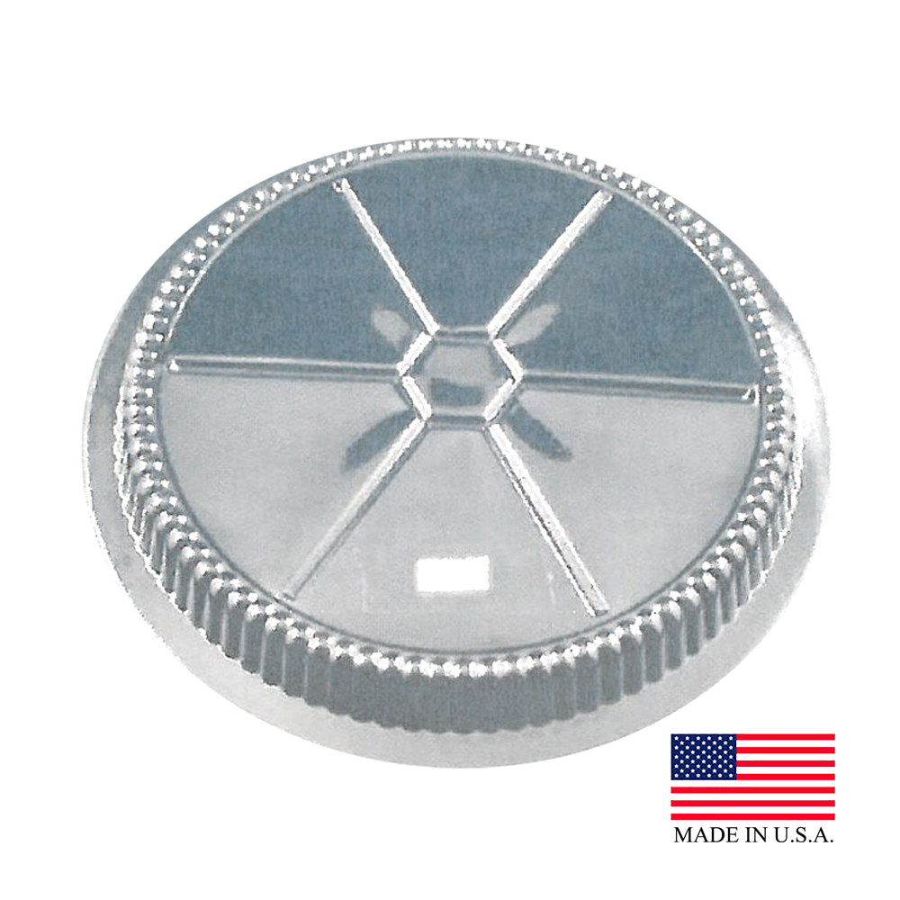 "Douglas Stephen Clear 9"" Round Dome Lid LD34"