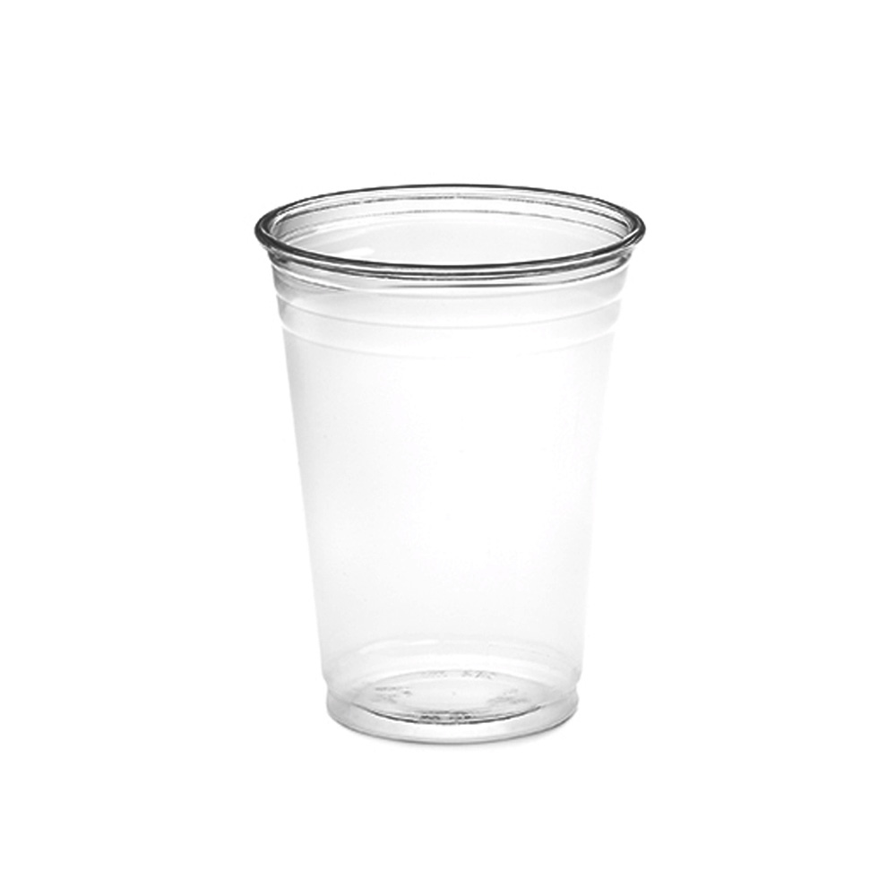 Amhil - Clear 10 oz. Plastic Pet Drink Cup APC10