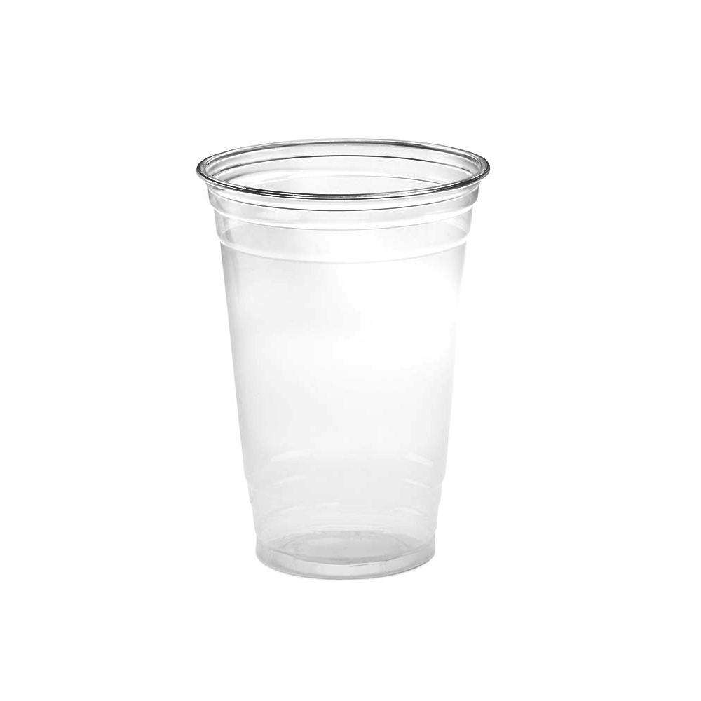 Amhil Clear 20oz Plastic Pet Drink Cup ACR20