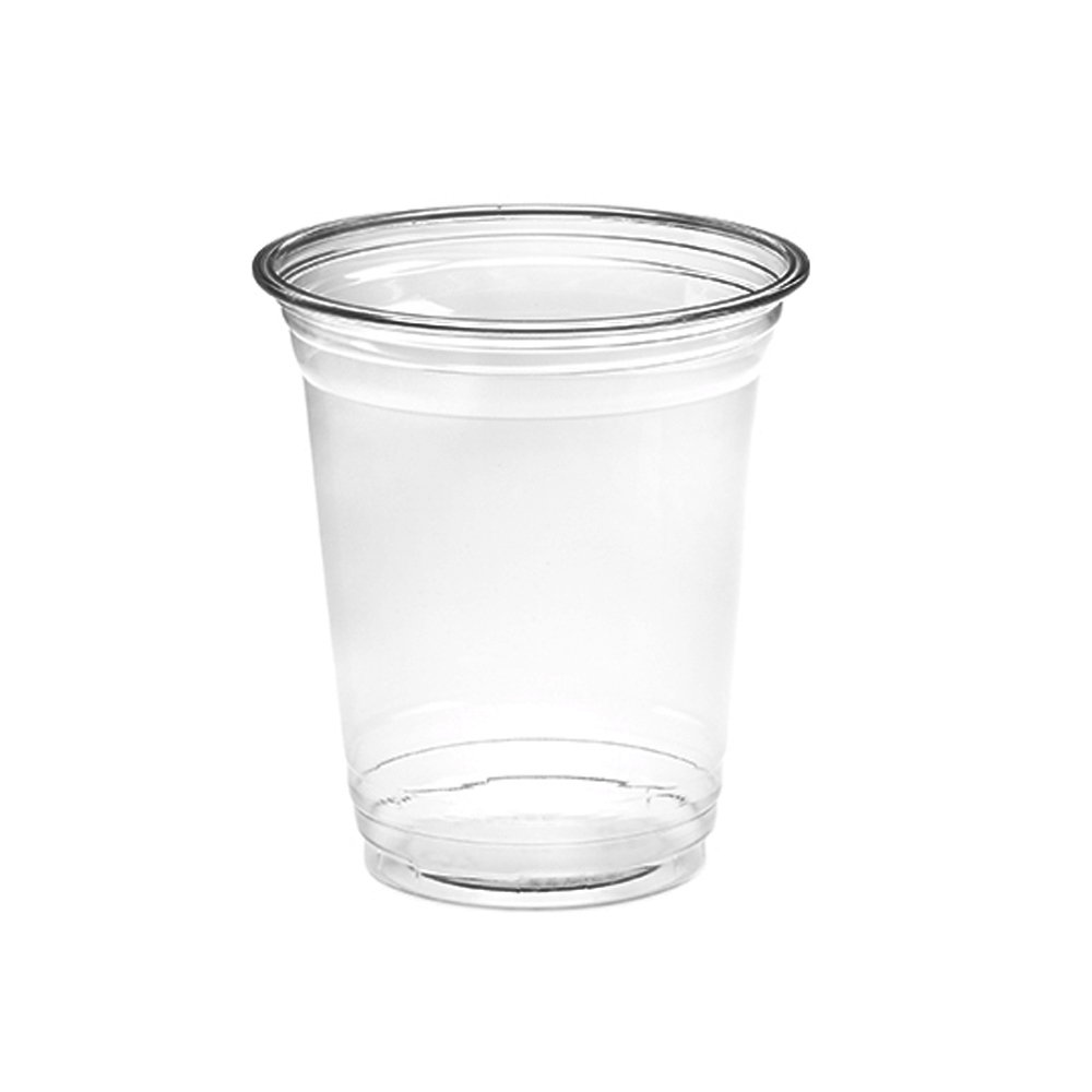 Amhil Clear 16oz Plastic Pet Drink Cup APC16