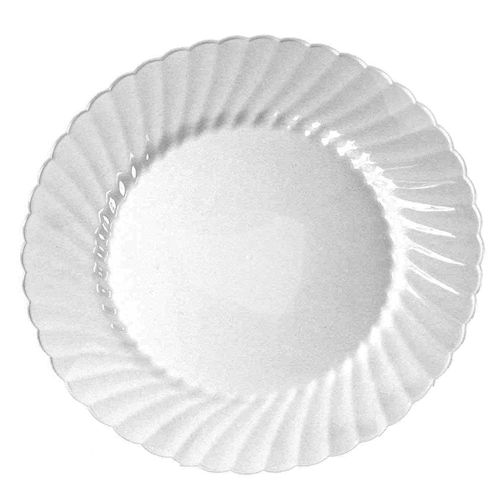 "Comet Clear 6"" Classicware Round Plastic Plate    RSCW61512"
