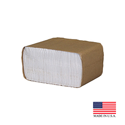 "Cascades Tissue Grp. - Select LII White 12""x5.5"" 1 ply 333 Sheet Low Fold Dispenser Paper Napki"
