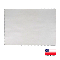 "Superior Laminators White 10""x14"" Placemat PM100"