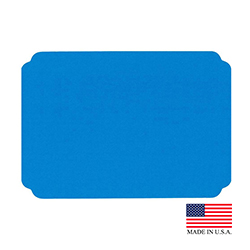 "Superior Laminators Inc. - Blue 10""x14"" Placemat PM126"