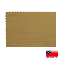 "Superior Laminators Inc. - Gold 10""x14"" Placemat PM127"